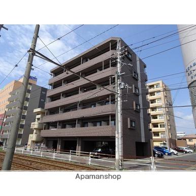 鹿児島県鹿児島市、谷山駅徒歩10分の築4年 6階建の賃貸マンション