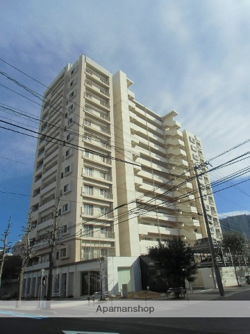 鹿児島県鹿児島市、中洲通駅徒歩10分の築7年 14階建の賃貸マンション