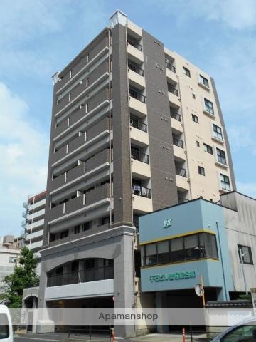 鹿児島県鹿児島市、高見馬場駅徒歩6分の築3年 9階建の賃貸マンション