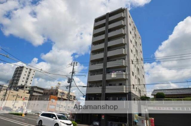 鹿児島県鹿児島市、武之橋駅徒歩9分の築7年 10階建の賃貸マンション