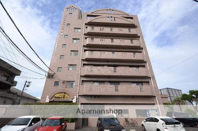 鹿児島県鹿児島市、荒田八幡駅徒歩12分の築23年 7階建の賃貸マンション