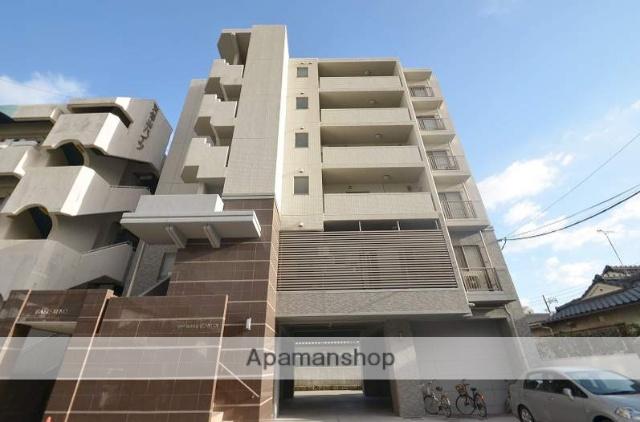 鹿児島県鹿児島市、武之橋駅徒歩17分の築9年 6階建の賃貸マンション