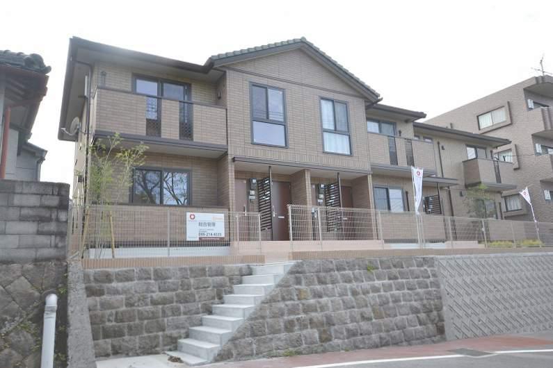 鹿児島県鹿児島市、神田(交通局前)駅徒歩10分の築1年 2階建の賃貸アパート