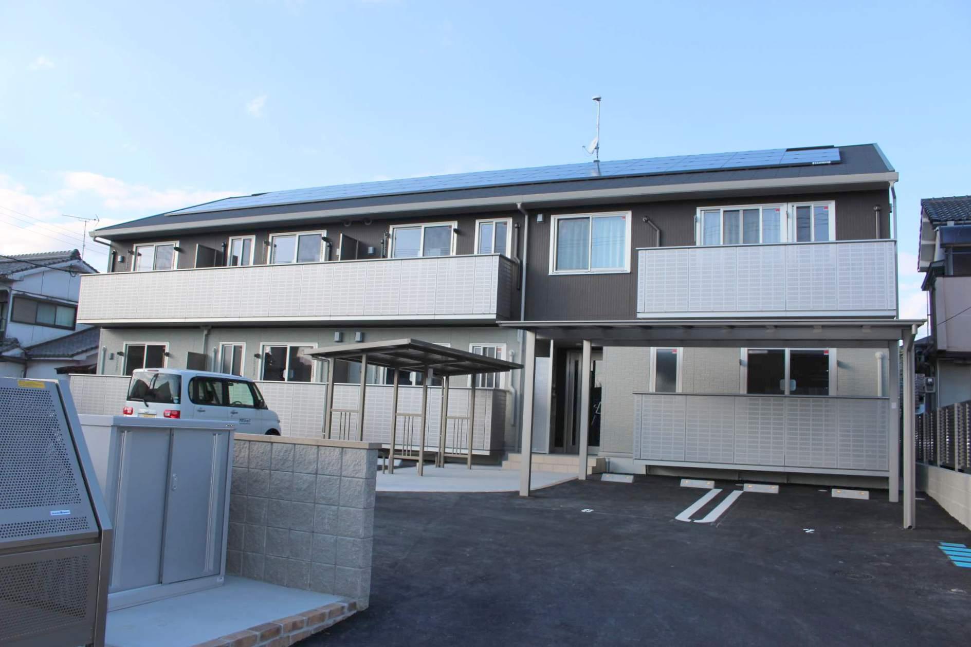 鹿児島県鹿児島市、加治屋町駅徒歩27分の新築 2階建の賃貸アパート