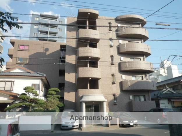 鹿児島県鹿児島市、二中通駅徒歩7分の築19年 5階建の賃貸マンション