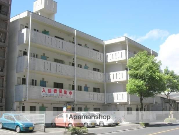 鹿児島県鹿児島市、都通駅徒歩18分の築32年 4階建の賃貸マンション