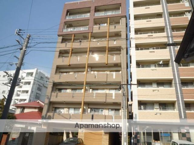鹿児島県鹿児島市、高見橋駅徒歩8分の築13年 8階建の賃貸マンション