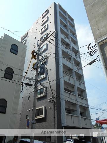 鹿児島県鹿児島市、鹿児島中央駅徒歩12分の築4年 10階建の賃貸マンション