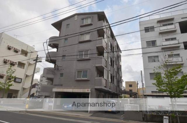 鹿児島県鹿児島市、騎射場駅徒歩10分の築18年 5階建の賃貸マンション