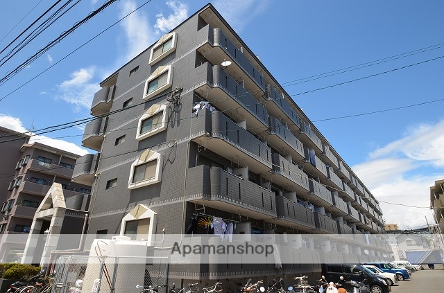 鹿児島県鹿児島市、宇宿駅徒歩7分の築27年 5階建の賃貸マンション
