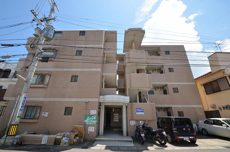 鹿児島県鹿児島市、宇宿駅徒歩4分の築28年 4階建の賃貸マンション