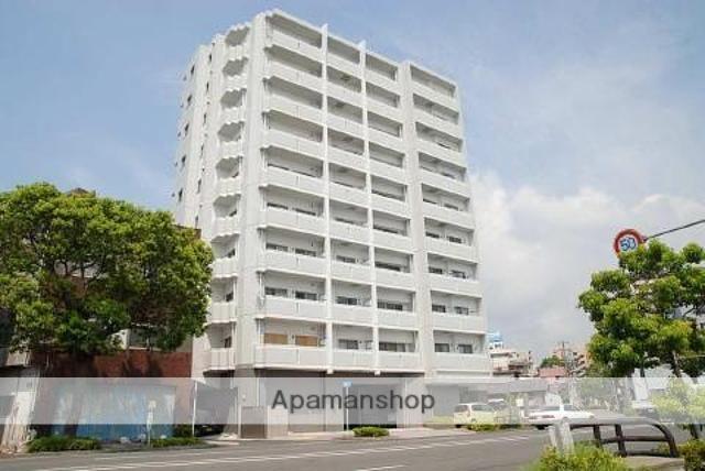 鹿児島県鹿児島市、新屋敷駅徒歩12分の築11年 10階建の賃貸マンション