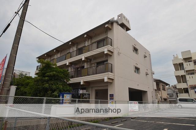 鹿児島県鹿児島市、騎射場駅徒歩10分の築34年 3階建の賃貸マンション