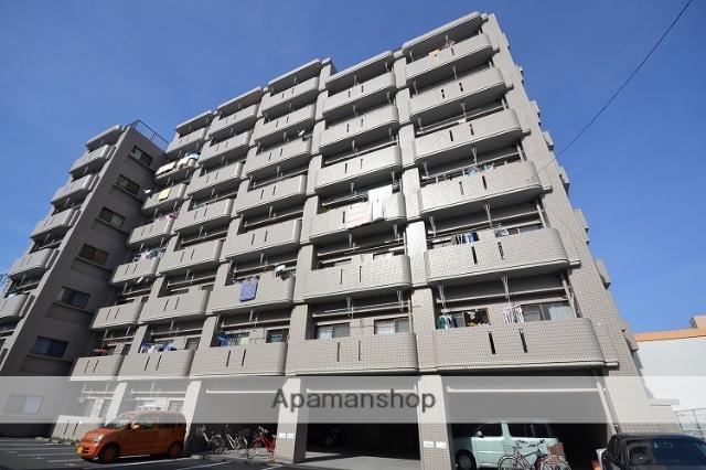 鹿児島県鹿児島市、宇宿駅徒歩10分の築25年 8階建の賃貸マンション