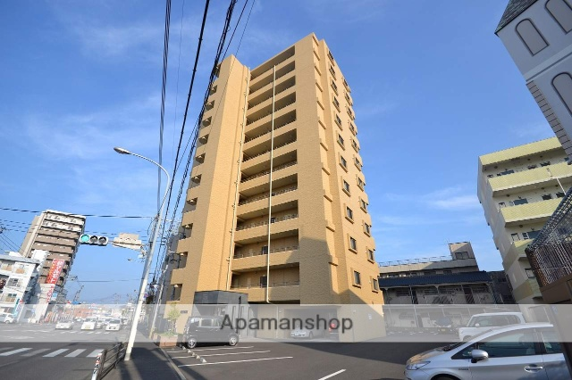 鹿児島県鹿児島市、宇宿駅徒歩6分の築4年 12階建の賃貸マンション