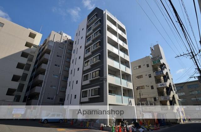 鹿児島県鹿児島市、荒田八幡駅徒歩7分の新築 9階建の賃貸マンション