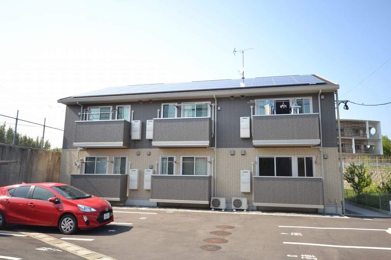 鹿児島県鹿児島市、広木駅徒歩33分の築1年 2階建の賃貸アパート