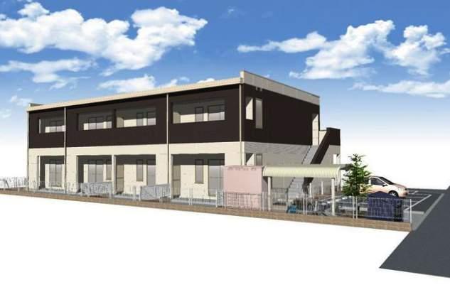 鹿児島県鹿児島市、谷山駅徒歩8分の新築 2階建の賃貸アパート