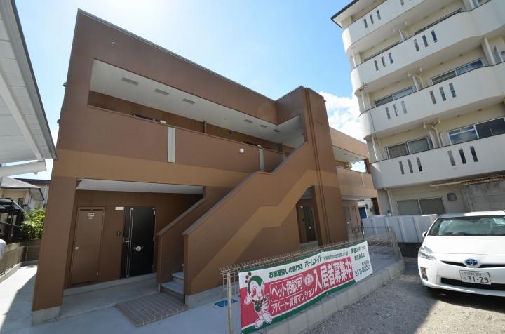 鹿児島県鹿児島市、神田(交通局前)駅徒歩7分の新築 2階建の賃貸アパート