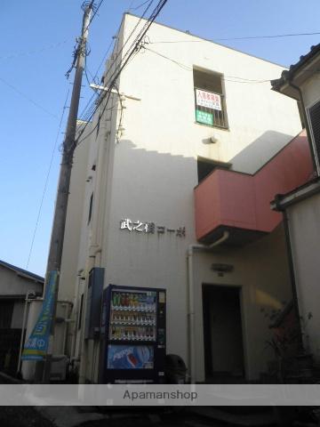 鹿児島県鹿児島市、新屋敷駅徒歩9分の築33年 3階建の賃貸アパート