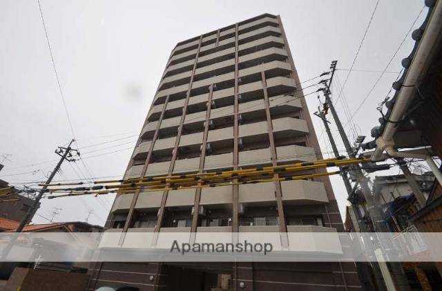 鹿児島県鹿児島市、鴨池駅徒歩4分の築2年 12階建の賃貸マンション