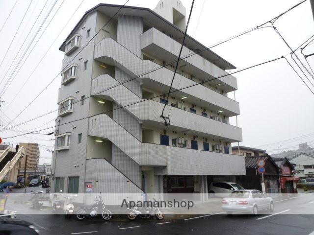 鹿児島県鹿児島市、神田(交通局前)駅徒歩6分の築27年 5階建の賃貸マンション