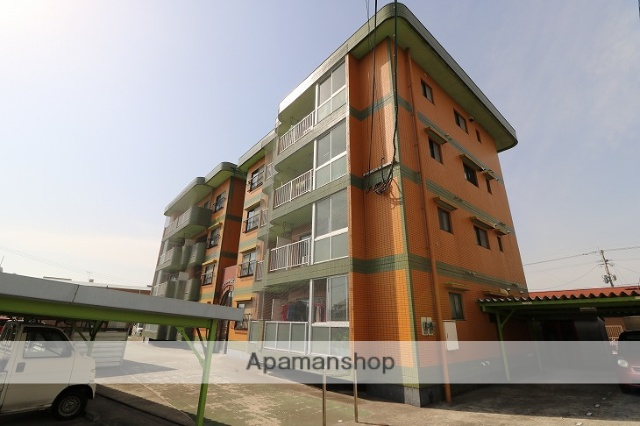 鹿児島県鹿屋市の築23年 4階建の賃貸マンション