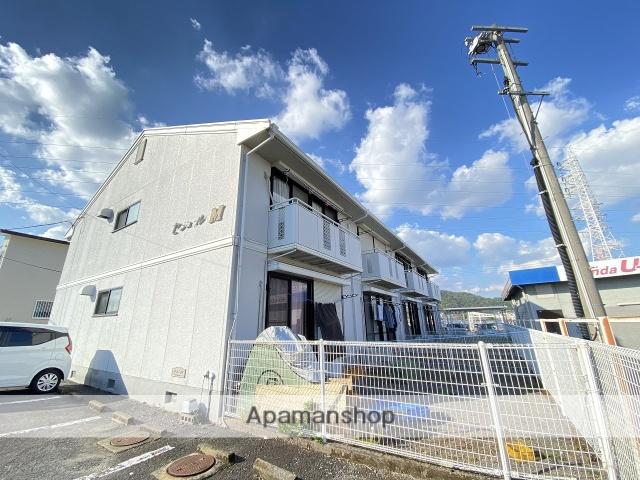鹿児島県霧島市、隼人駅徒歩5分の築25年 2階建の賃貸アパート