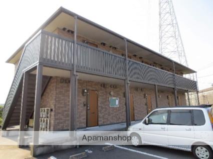 鹿児島県霧島市、隼人駅徒歩10分の築13年 2階建の賃貸アパート