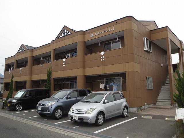 鹿児島県霧島市、隼人駅徒歩5分の築9年 2階建の賃貸アパート
