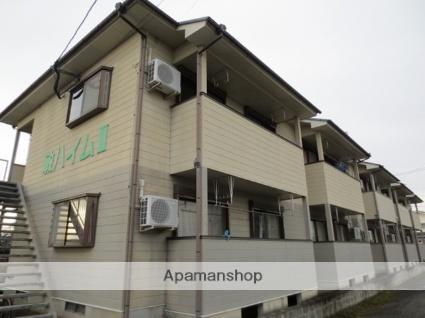 鹿児島県霧島市の築17年 2階建の賃貸アパート