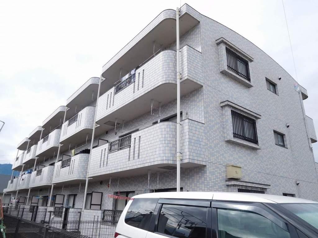 鹿児島県姶良市、帖佐駅徒歩17分の築14年 3階建の賃貸マンション