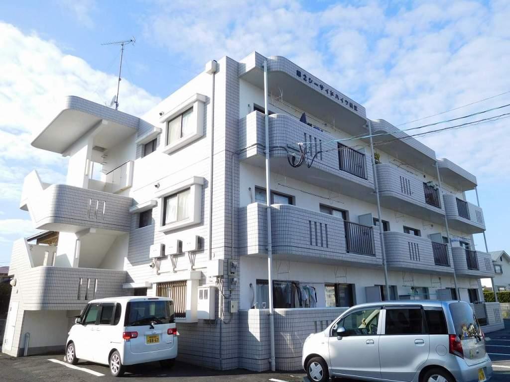 鹿児島県姶良市、姶良駅徒歩6分の築24年 3階建の賃貸マンション