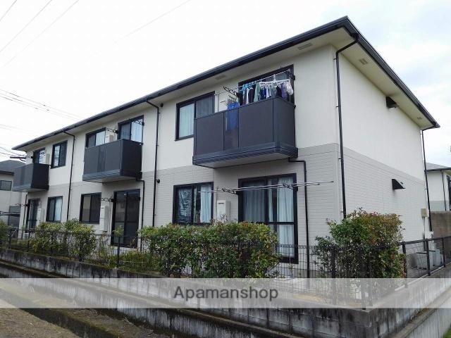 鹿児島県姶良市、帖佐駅徒歩12分の築17年 2階建の賃貸アパート