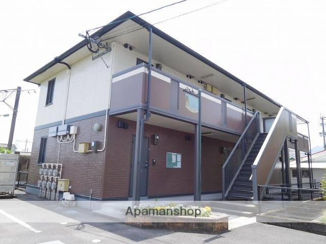 鹿児島県姶良市、帖佐駅徒歩1分の築11年 2階建の賃貸アパート