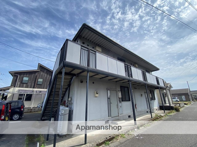 鹿児島県姶良市、帖佐駅徒歩13分の築21年 2階建の賃貸アパート