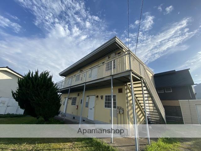 鹿児島県姶良市、姶良駅徒歩14分の築27年 2階建の賃貸アパート