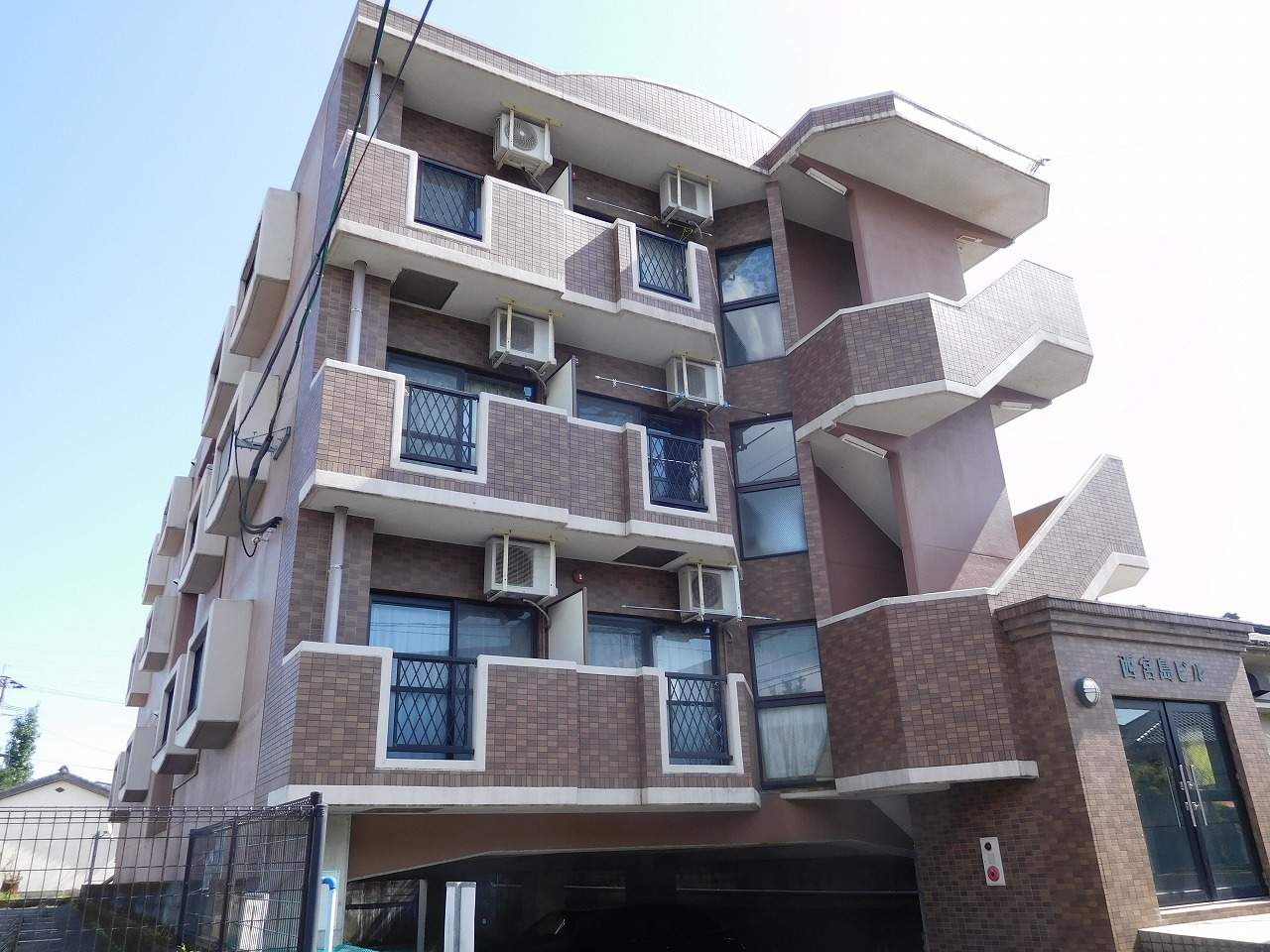 鹿児島県姶良市、帖佐駅徒歩16分の築14年 3階建の賃貸マンション