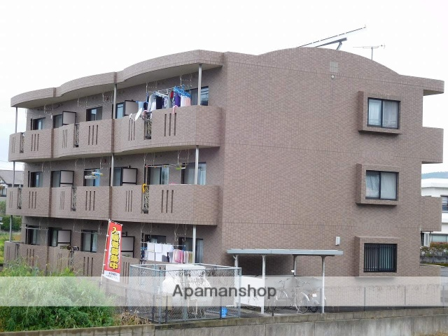 鹿児島県姶良市、加治木駅徒歩7分の築17年 3階建の賃貸マンション