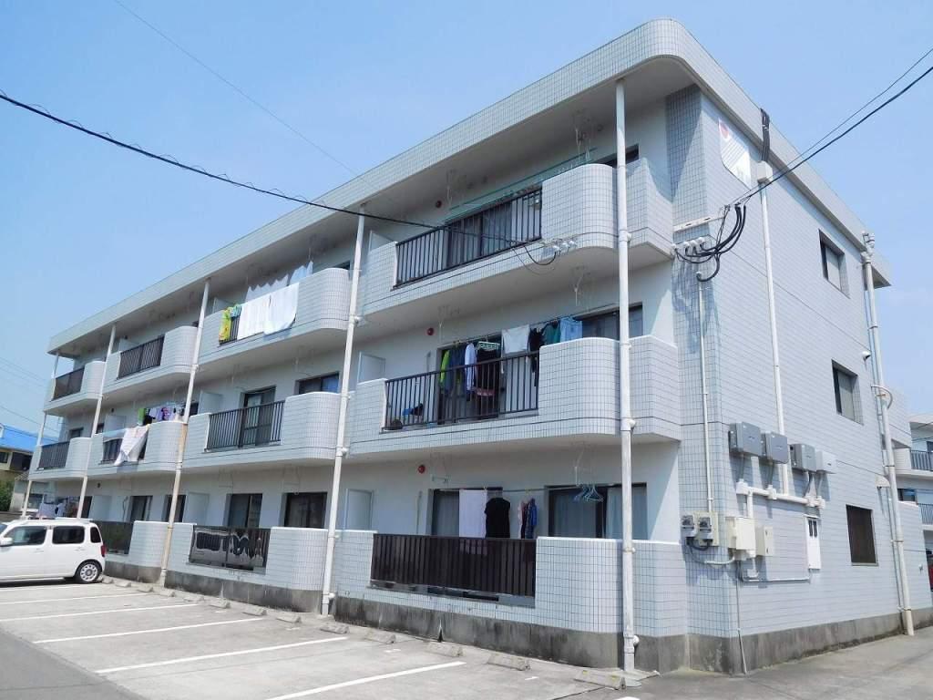 鹿児島県姶良市、姶良駅徒歩6分の築28年 3階建の賃貸マンション