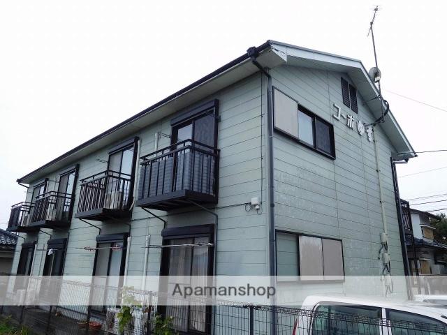 鹿児島県姶良市、加治木駅徒歩15分の築17年 2階建の賃貸アパート