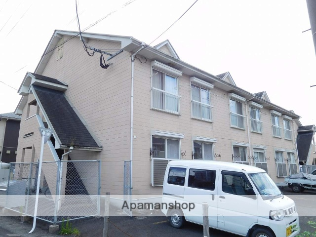 鹿児島県姶良市、帖佐駅徒歩5分の築23年 2階建の賃貸アパート
