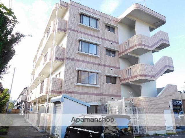 鹿児島県姶良市、加治木駅徒歩10分の築26年 4階建の賃貸マンション