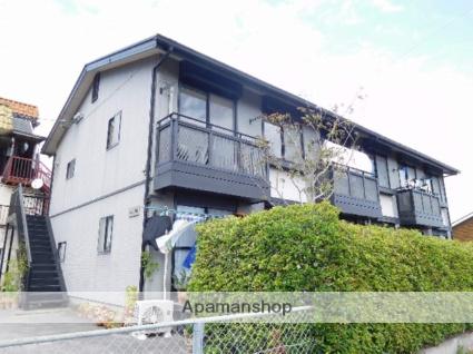 鹿児島県姶良市の築18年 2階建の賃貸アパート
