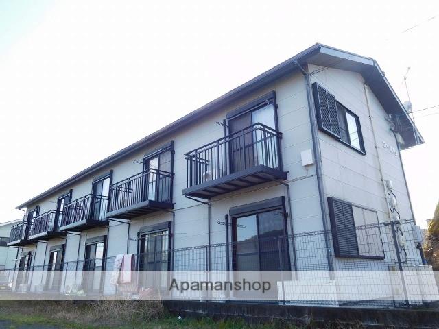 鹿児島県姶良市、加治木駅徒歩12分の築14年 2階建の賃貸アパート