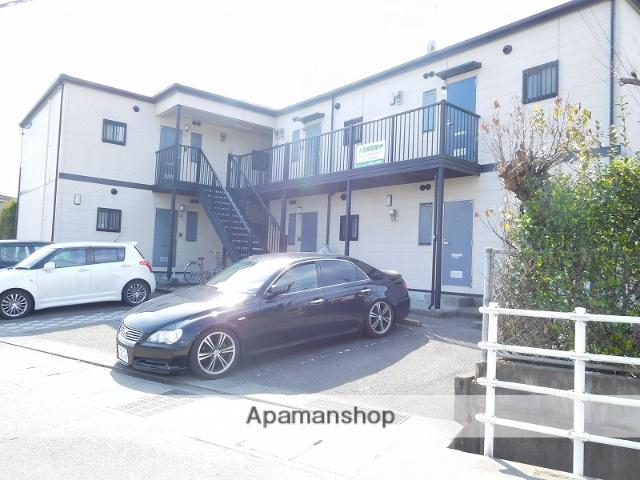 鹿児島県姶良市、姶良駅徒歩8分の築18年 2階建の賃貸アパート