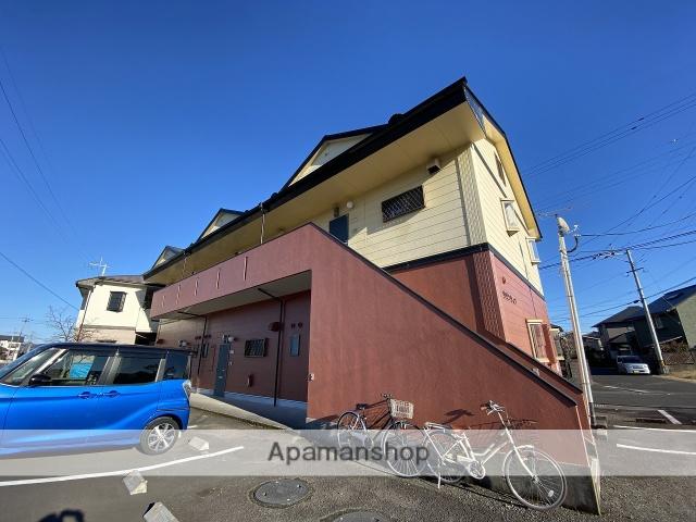 鹿児島県姶良市、姶良駅徒歩11分の築19年 2階建の賃貸アパート