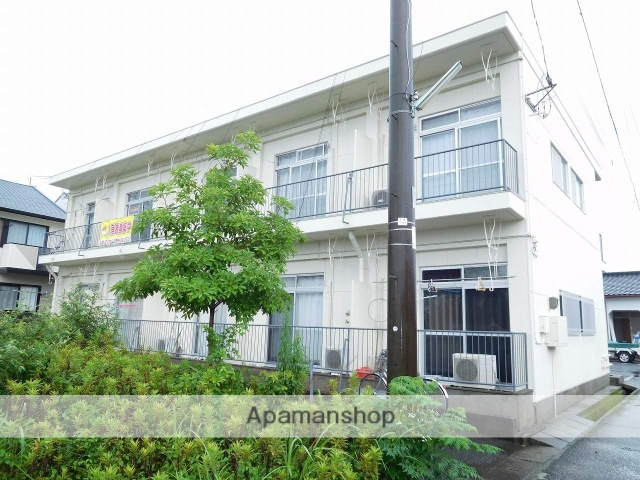鹿児島県姶良市、加治木駅徒歩12分の築32年 2階建の賃貸アパート