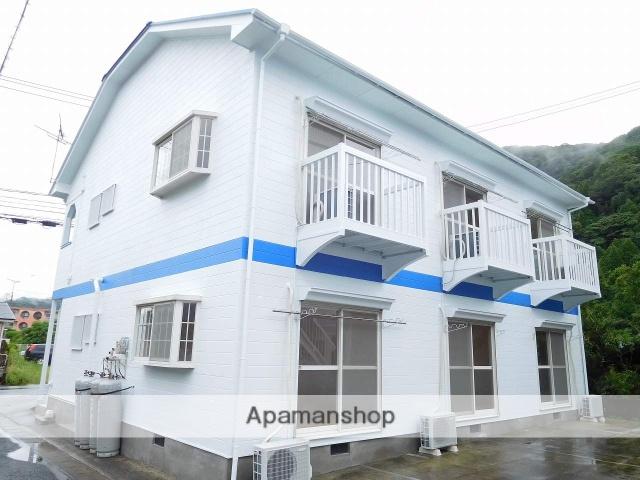 鹿児島県姶良市、加治木駅徒歩12分の築25年 2階建の賃貸アパート