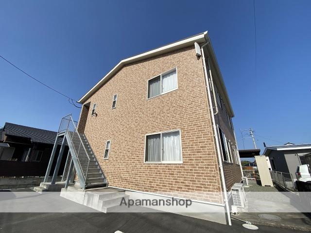 鹿児島県姶良市、姶良駅徒歩19分の新築 2階建の賃貸アパート